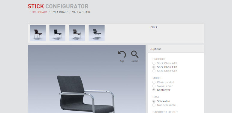 ICF Office,product configurator